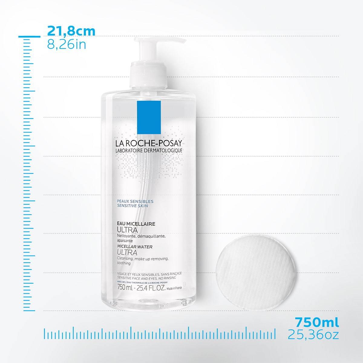 La Roche Posay StránkaProduktu Fyziologická čisticí péče na obličej Micelární Ultra