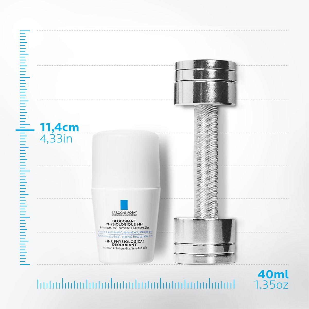 La Roche Posay StránkaProduktu Fyziologický deodorant Roll-on 24h 50ml 33