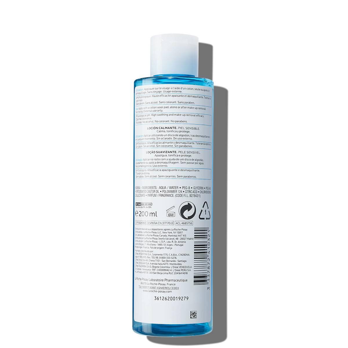 La Roche Posay StránkaProduktu Fyziologická čisticí péče na obličej Zklidňující mléko