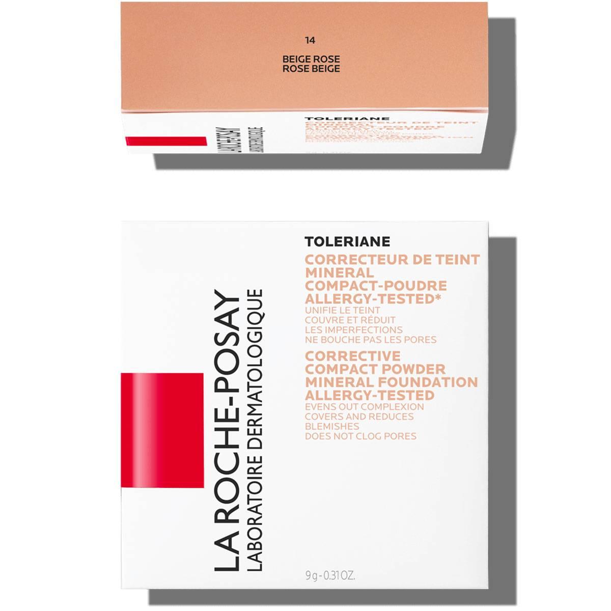 La Roche Posay Citlivá Toleriane Make-up KOMPAKTNÍ PUDR 14RoseBeige