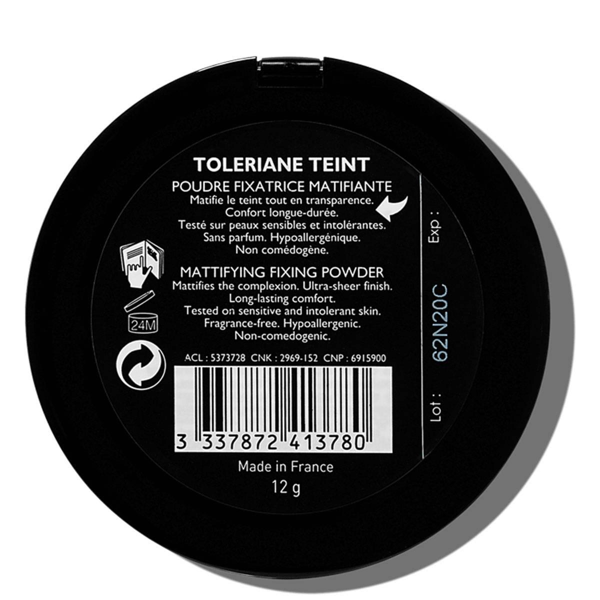 La Roche Posay Citlivá Toleriane Make-up PUDR Fixace 3337872413780