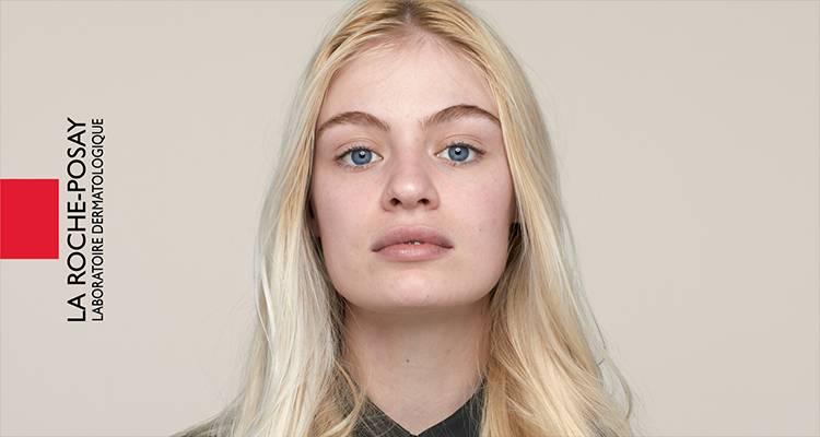 La Roche Posay Citlivá Toleriane Make-up Light Beige Chloe Před